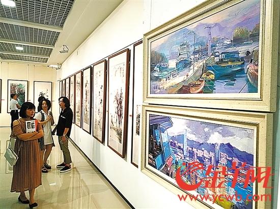 庆香港回归20周年绘画艺术交流展在汕头举行