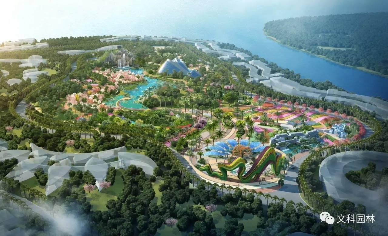 【文科设计】中国恒大海花岛e区植物园设计赏析