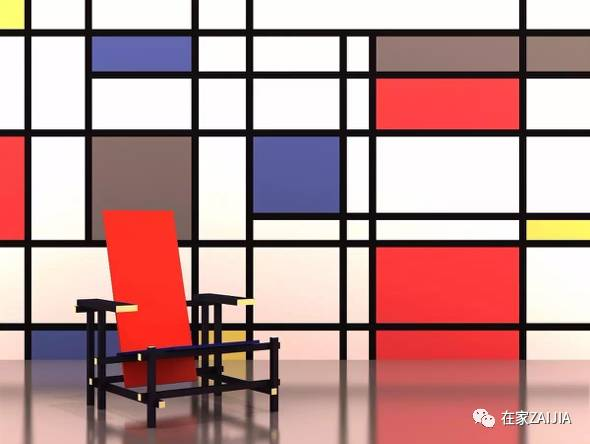 蒙德里安的红黄蓝赏析 排行榜大全