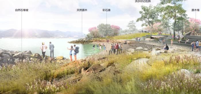 8、[浙江]竖向设计主题花园大学校园景观施工图(附方案与实景图)