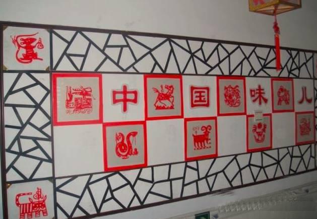 楼道   走廊连接着各个教室,是平 中国京韵文化