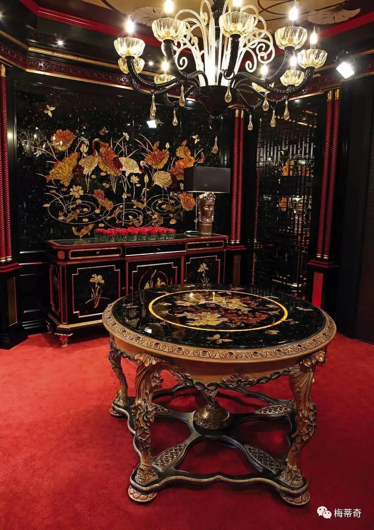 欧式家居中的中国元素 梅蒂奇