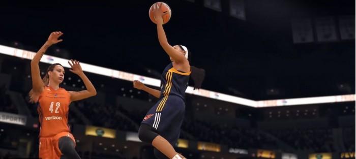 巾帼不让须眉:WNBA全球员加入《NBALive18》
