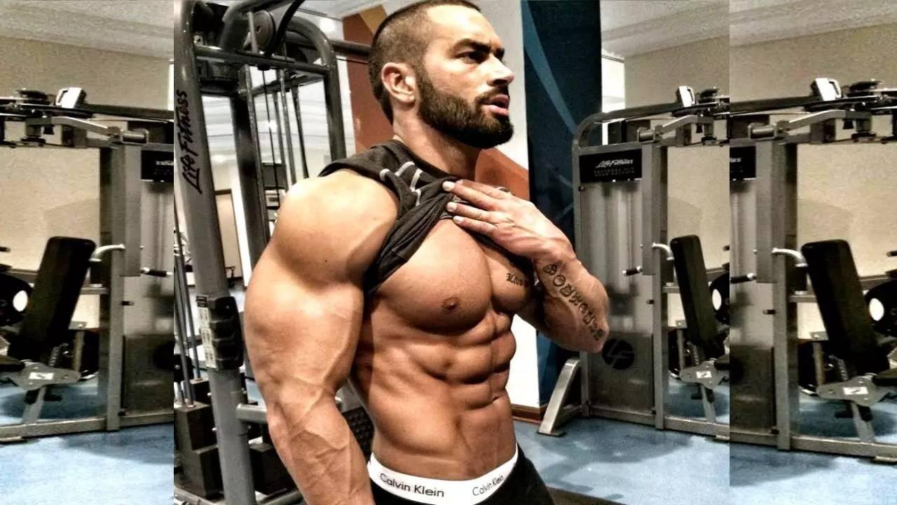 中国肌肉男头像高清
