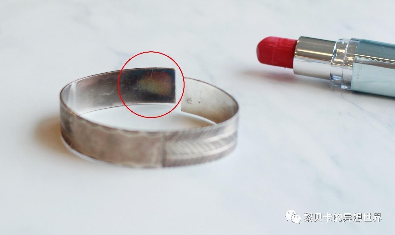 口红擦银饰变黑的原理_口红擦银饰为什么变黑 口红擦银饰变黑的原理