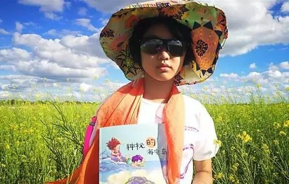 了 咱河北这个12岁小女孩出版小说,带你思考带你飞