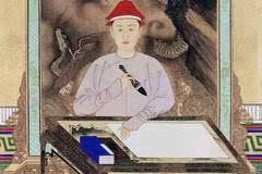 九位清朝皇帝的书法,一代不如一代