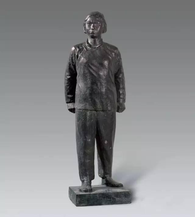 铸铜人物写实雕塑