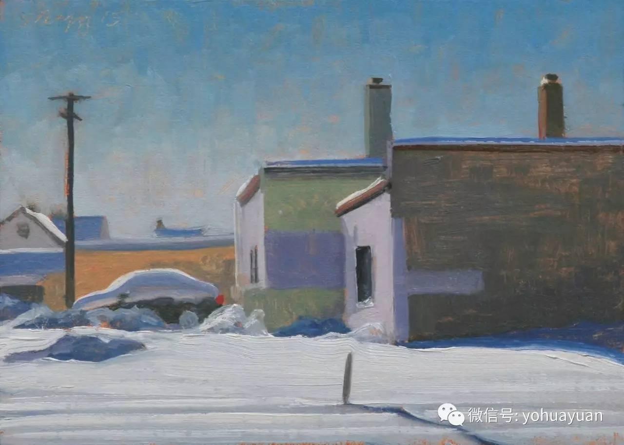 底特律和纽约的街景画家 斯蒂芬 马格西戈