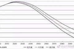 中国人口老龄化_2100年 中国人口