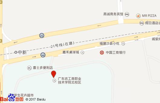 十一,校园手绘地图