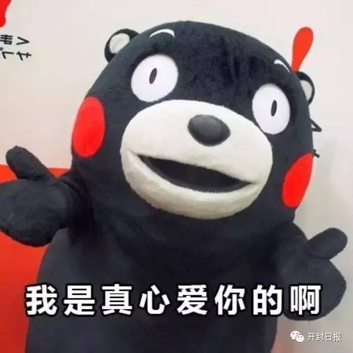 熊本熊表情包:哥哥我叫海王图片