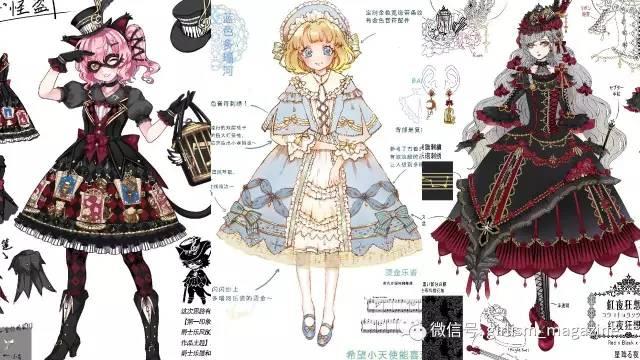 【lolita画稿大赛】参赛作品展示15图片