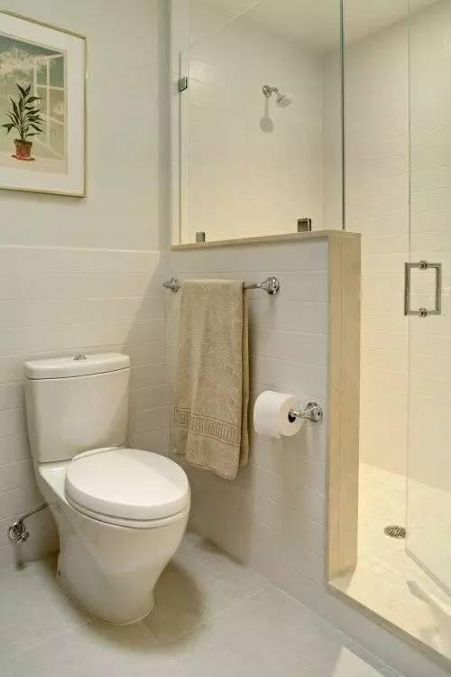 不到5㎡的迷你卫生间装修,小户型就是越精致越喜欢!