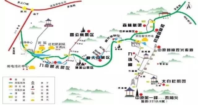 栾川县城内喷泉乘坐龙峪湾旅游专线车到龙峪湾,票价约10元;或乘坐5路图片