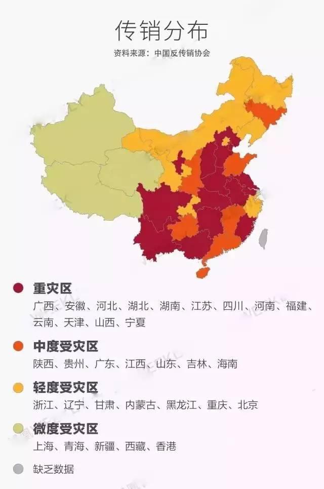 中国传销江湖 北派限制自由,南派精神控制