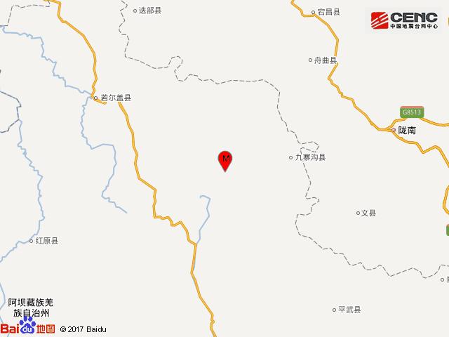 揪心!四川九寨沟县发生7.0级地震
