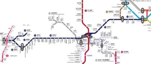 终于有人把全国高铁图画得像坐地铁一样方便