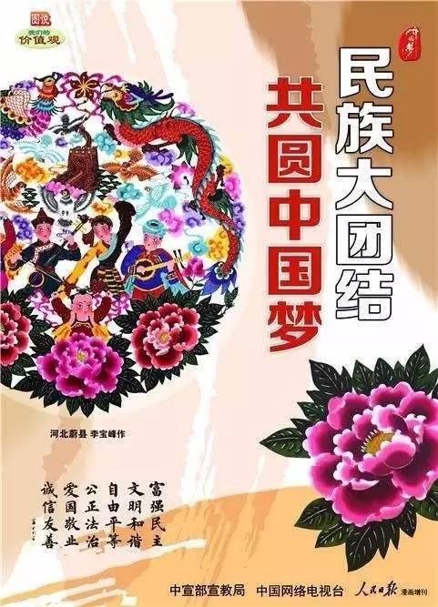 民族大团结 共圆中国梦