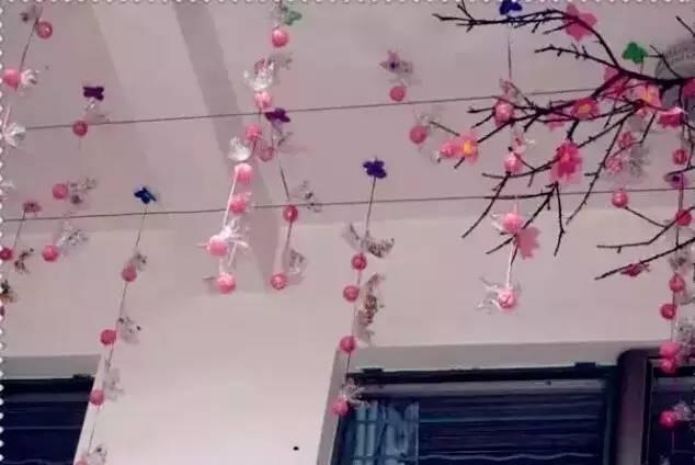 开学环创 中国风楼梯 主题墙 吊饰 瞬间让教室美如诗画