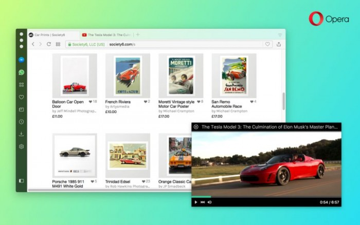 Opera47稳定版发布:视频播放更流畅