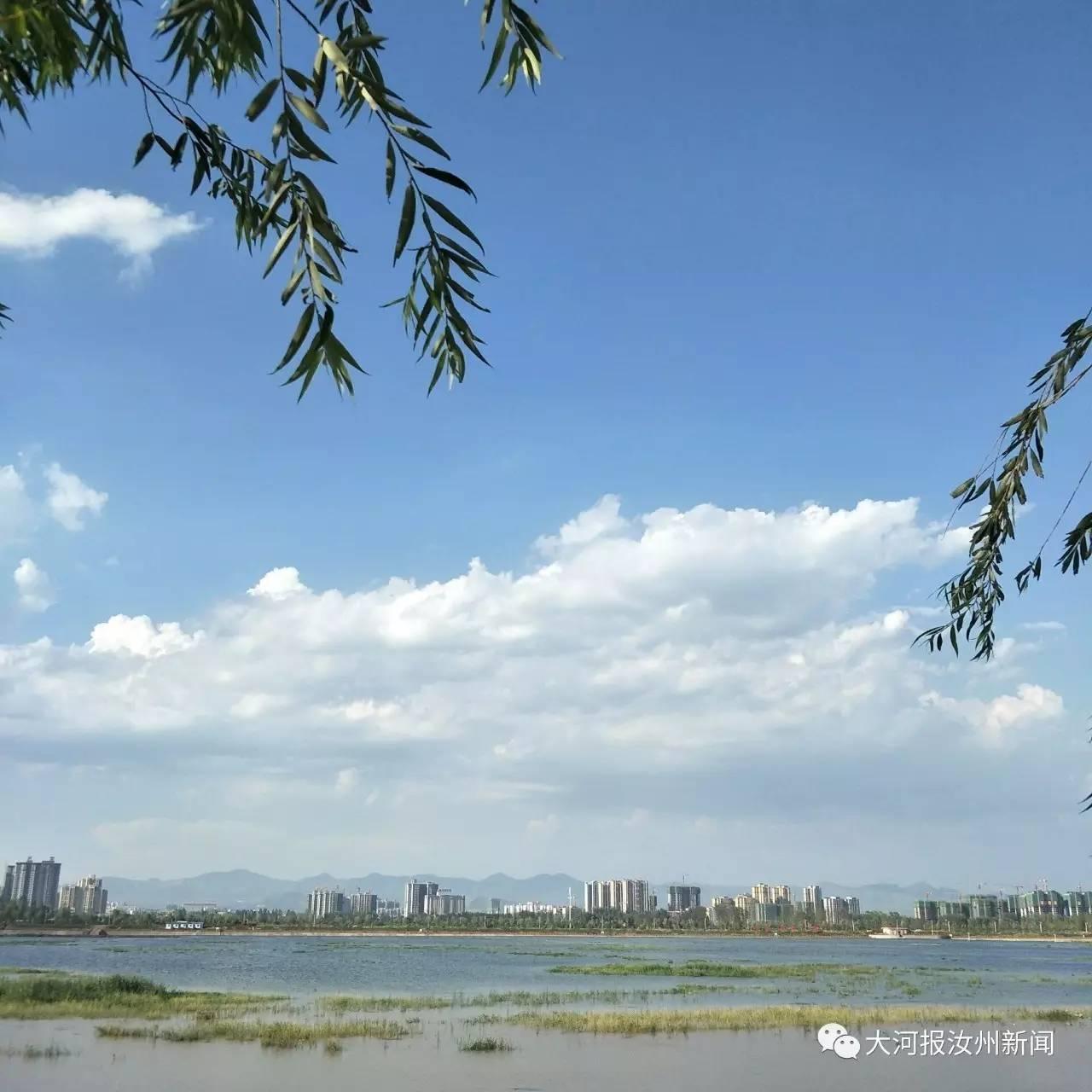 襄城 北汝河国家湿地公园