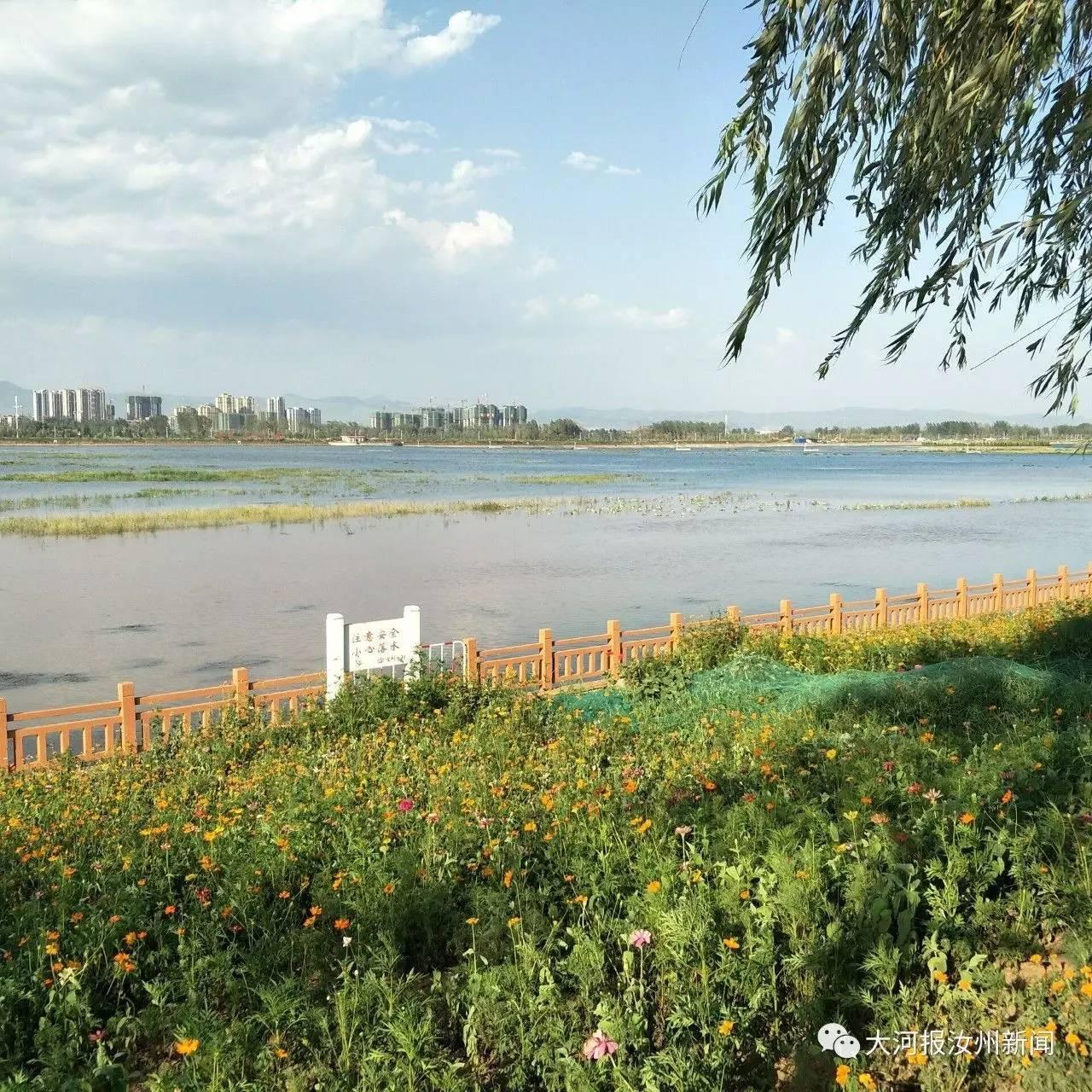 夏邑县委书记到汝州汝河国家湿地公园参观_品略