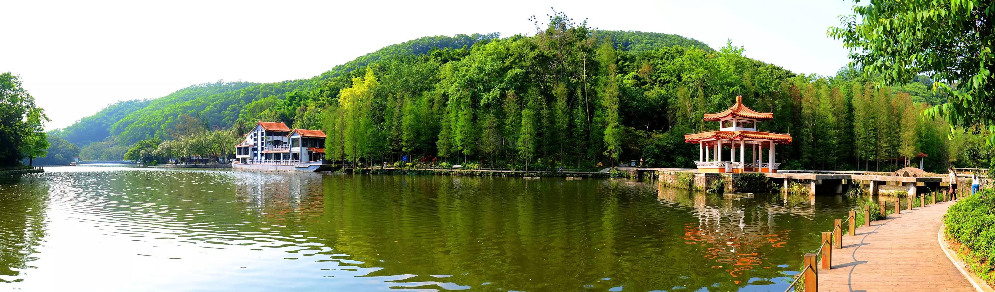 山水田园农庄团_观澜山水田园是深圳首家大型生态水上乐园,占地2万余平方米.