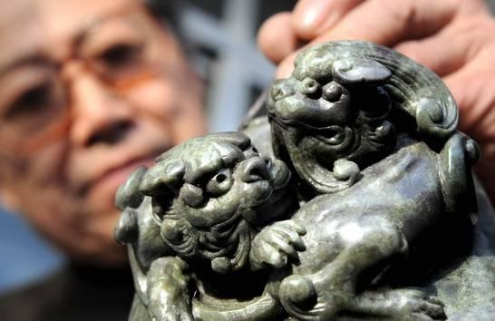 以前的莱州滑石猴,现在的非物质文化遗产,了不di