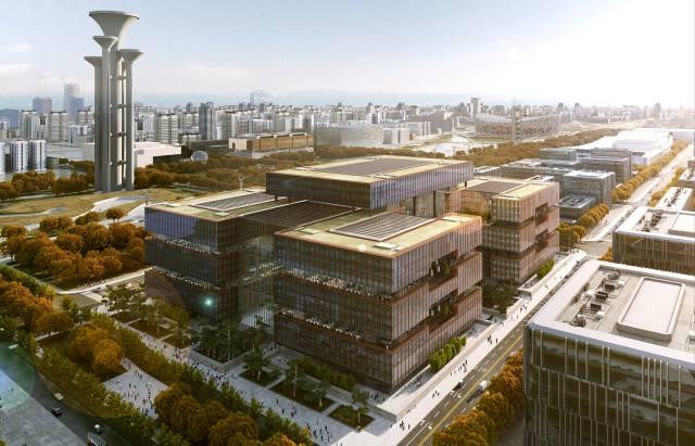 亚投行总部永久办公大楼钢结构工程