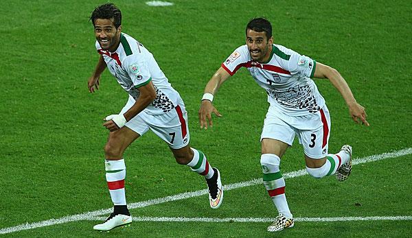 伊朗男足开除了队长,原因竟是他和以色列球队