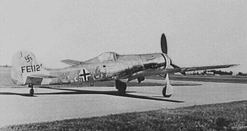二战战机 之 德国ta-152战斗机