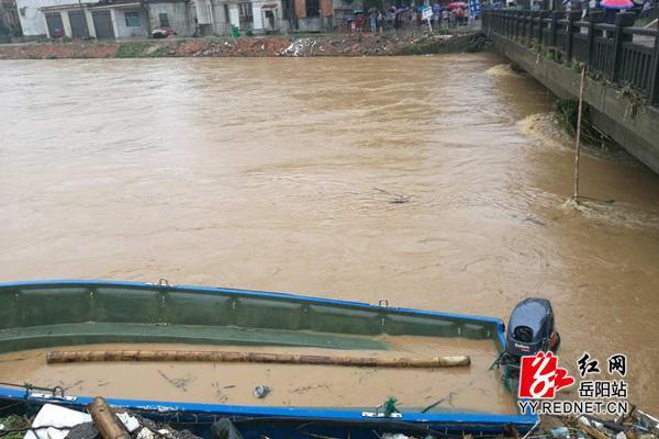 湖南汨罗救援被困群众而落水失踪的村党支书李大元已殉职