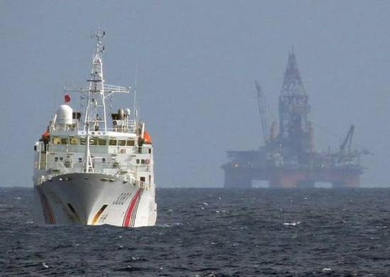 越南欲在南海采油 钻井船作业已于上月中止抵达马来西亚
