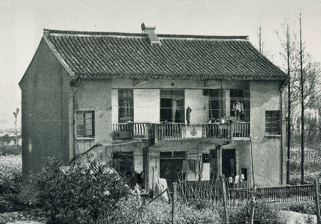 ▲80年代洪庙地区农民住宅图片