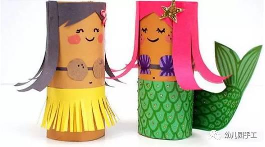 纸筒再利用儿童手工制作,可以开放孩子的无限想象力!