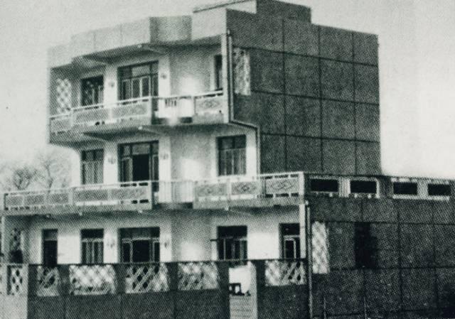 ▲80年代,新寺地区农民住宅图片