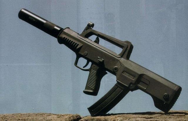 冲锋枪03-这款冲锋枪弥补了解放军冲锋枪的短板,弹容量更是高达50发
