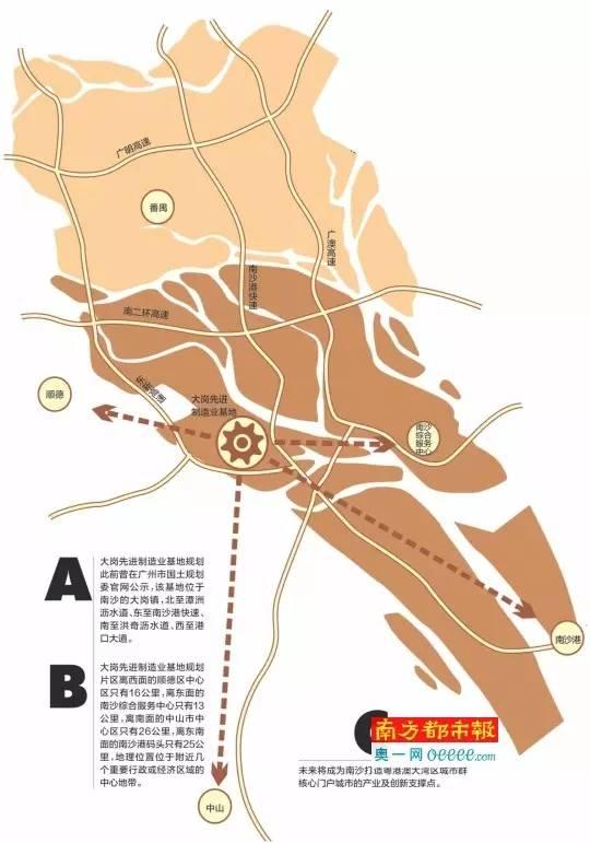 南沙最新规划图