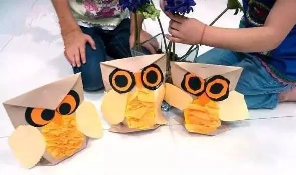 纸袋人物手工制作图片