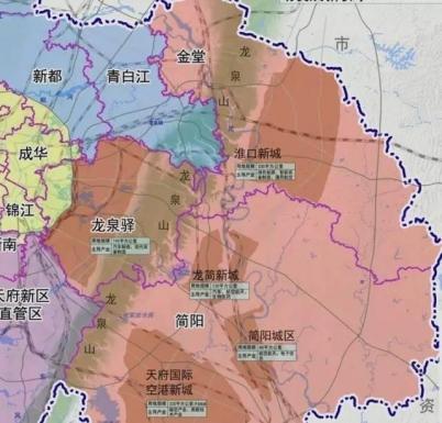 龙泉驿十陵最新规划图