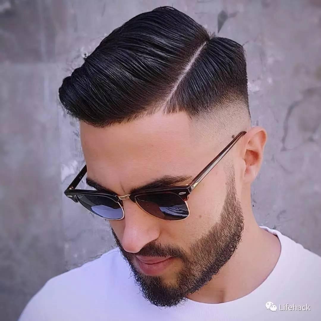 男头发型图片