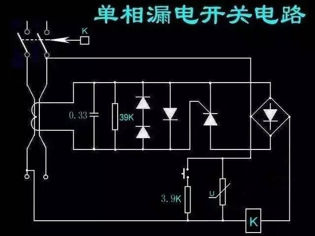 36种电气控制图,收集起来长期看,温故知新