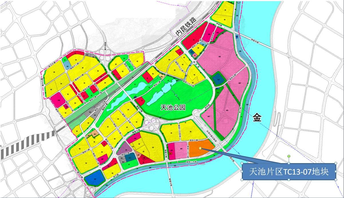 财经 正文  项目位置:位于宜宾市岷江新区起步区南部片区 项目占地