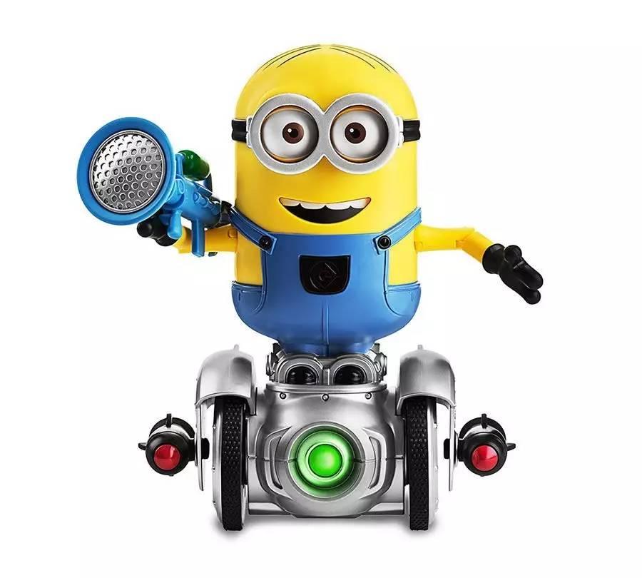 小黄人率一众机器人,誓要卖萌征服你