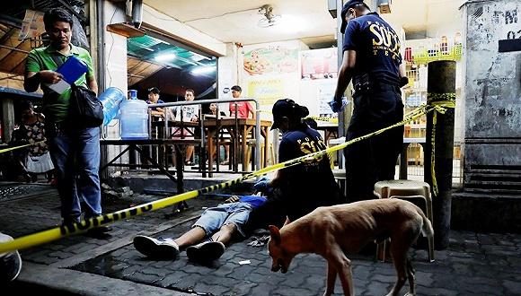 菲律宾缉毒最血腥24小时:32人被击毙杜特尔特点赞
