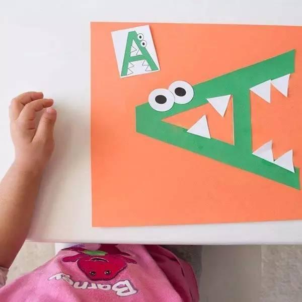 字母的创意手工制作教程,秋季学期必备手工!图片
