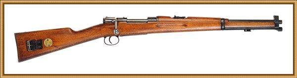 军事 正文  16-13 上图为西班牙《m43式》毛瑟步枪.口径 7.