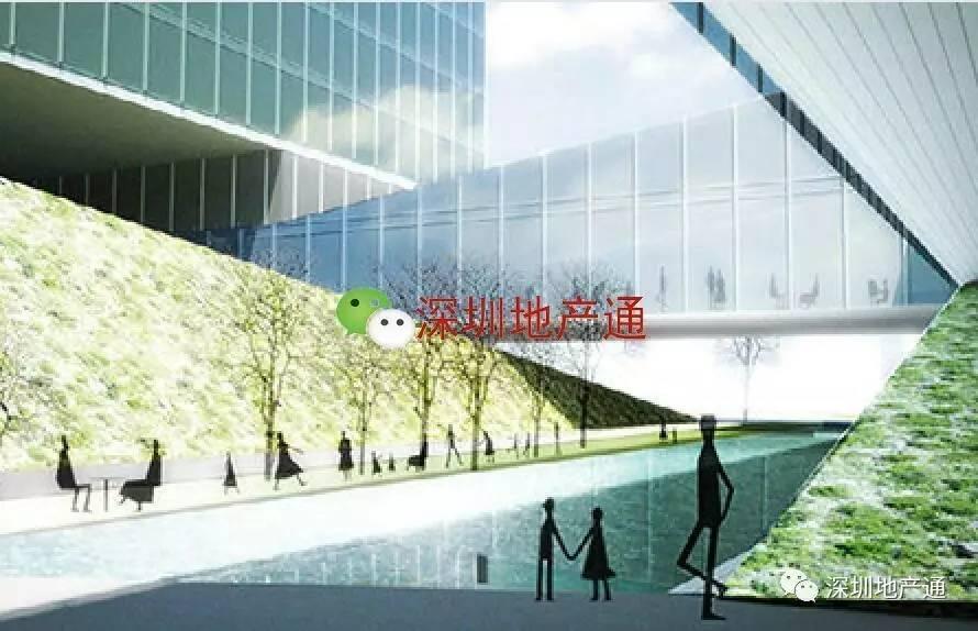 """世界500强房企的深圳湾""""H""""总部楼"""