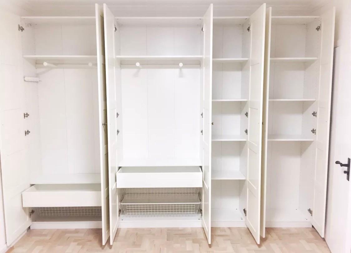 超全衣柜内部结构设计,让你家的衣柜更能装